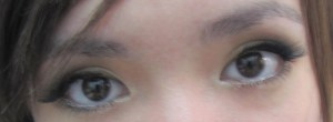 larger looking eyes