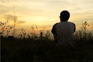 Sunset_Alone_by_ibadurrahman1