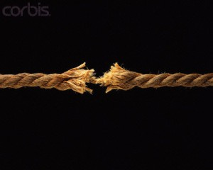 Rope About to Break