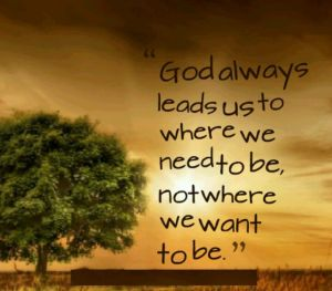 god leads