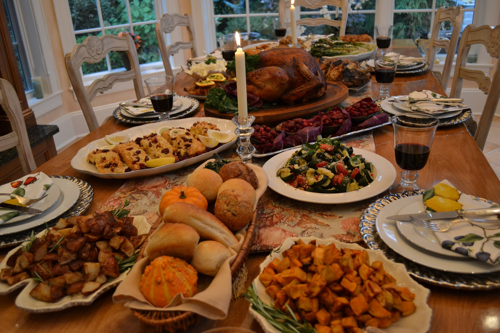 thanksgiving dinner 2018 order